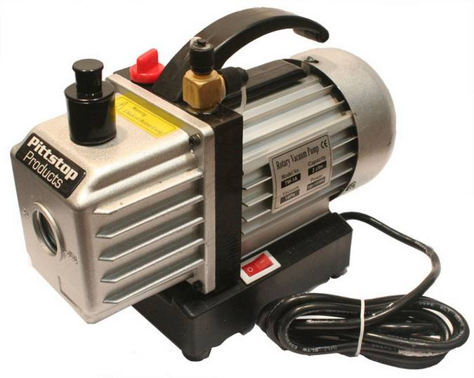 Envirosafe Pittstop Vacuum Pump 4 CFM 2 STAGE Photo - Click to Enlarge