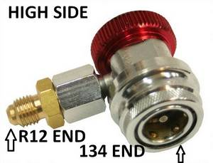 134a Highside Thread Down Coupler w/14mm ends #3060 - Click to Purchase