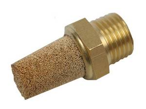 "1/4"" Brass Muffler #6035 - Click to Purchase"