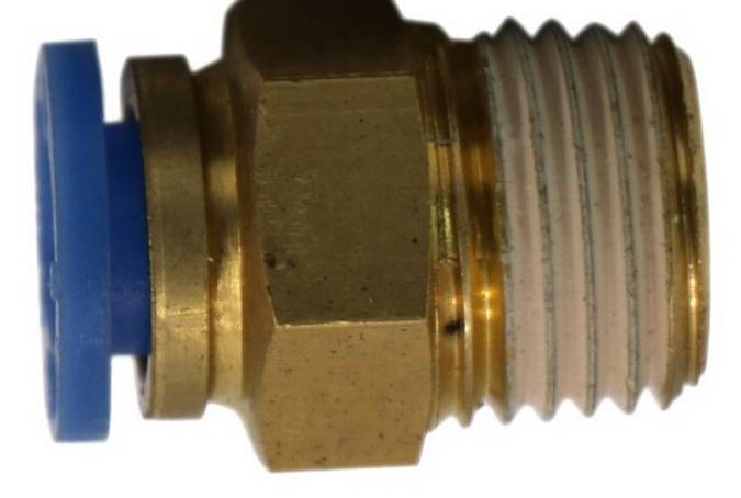 "Envirosafe 1/4"" to 1/4"" Fitting #6095 Photo - Click to Enlarge"