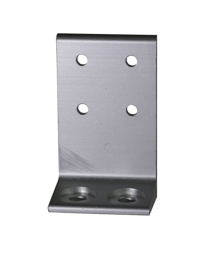 Envirosafe T Slot Aluminum Leg Anchor A8 #2417 Photo - Click to Enlarge