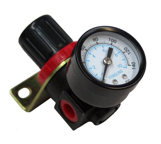 Envirosafe AR-2000 Pressure Regulator with Gauge #6010 Photo - Click to Enlarge
