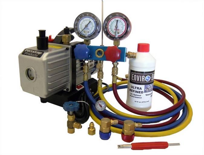 A/C Mechanic/HVAC Start-up Recharging Tool Kit #4000 Details and ...