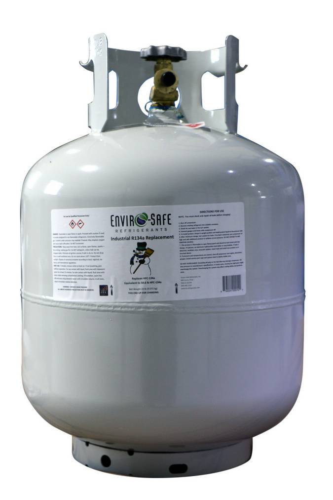 Envirosafe Enviro-Safe Industrial R134A Replacement Refrigerant 30lb Cylinder #1070 Photo - Click to Enlarge