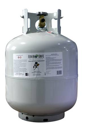Enviro-Safe Industrial R134A Replacement 30lb Cyl (12lbs=31.2lbs R134a) - Click to Purchase