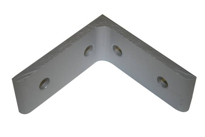 Envirosafe T Slot Aluminum Extrusion 15 S 4 Hole Angle Bracket #4301 Photo - Click to Enlarge