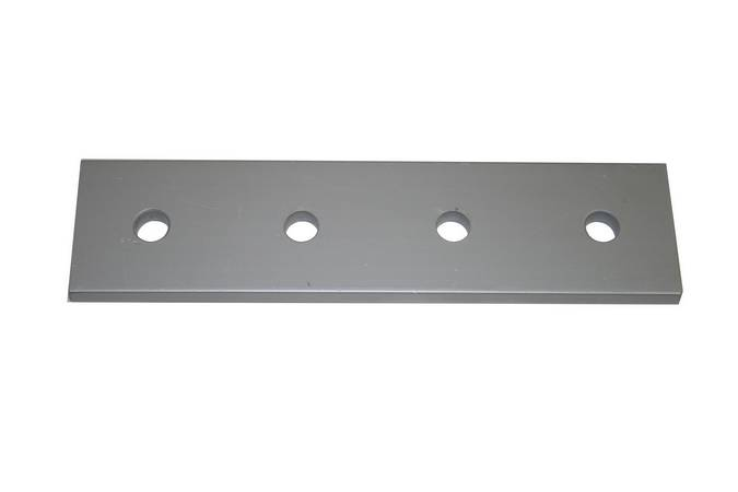 Envirosafe T Slot Aluminum Extrusion 15 S 4 Hole Joining Strip #4305 Photo - Click to Enlarge