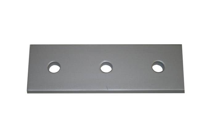 Envirosafe T Slot Aluminum Extrusion 15 S 3 Hole Joining Strip #4306 Photo - Click to Enlarge