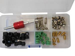 A/C Repair Kit for Hoses/Schrader Valves CH-237 #5140 - Click to Purchase