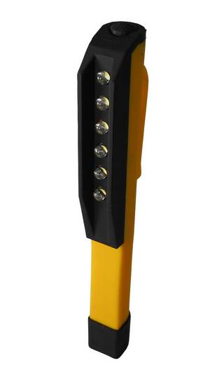 Clip On/Magnetic 6 bulb LED Yellow #3550 - Click to Purchase