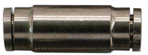 "Straight Union MPUC Push in Pneumatic Fitting  1/4"" #6098 - Click to Purchase"