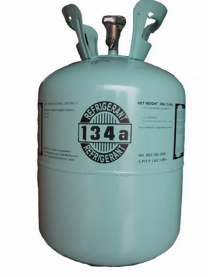 Envirosafe R134a Cylinder Photo - Click to Enlarge