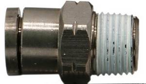 Male Straight Push in Pneumatic Fitting MPC #6096 - Click to Purchase