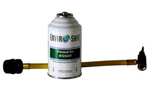 Proseal for 1234YF Can with 134 Can Tap to 1234YF Coupler Hose #4845 - Click to Purchase