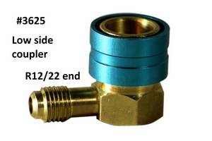 "1/4"" R22-R1234YF Coupler #3625 - Click to Purchase"