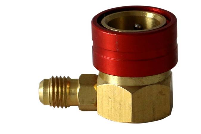 Envirosafe R1234YF High Side Snap Coupler #3626 Photo - Click to Enlarge