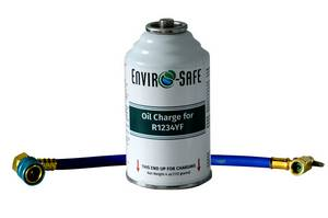 Enviro-Safe Oil Charge for R1234YF Systems and Brass Hose # - Click to Purchase