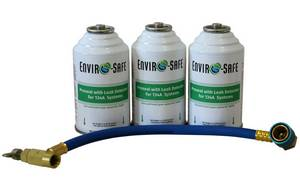 Proseal with Leak Detector 3 Cans with Brass Hose - Click to Purchase